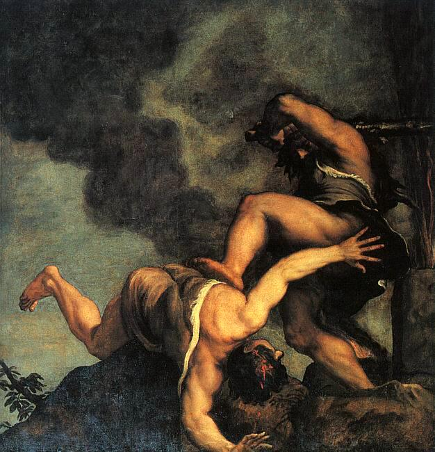 Titian Cain and Abel