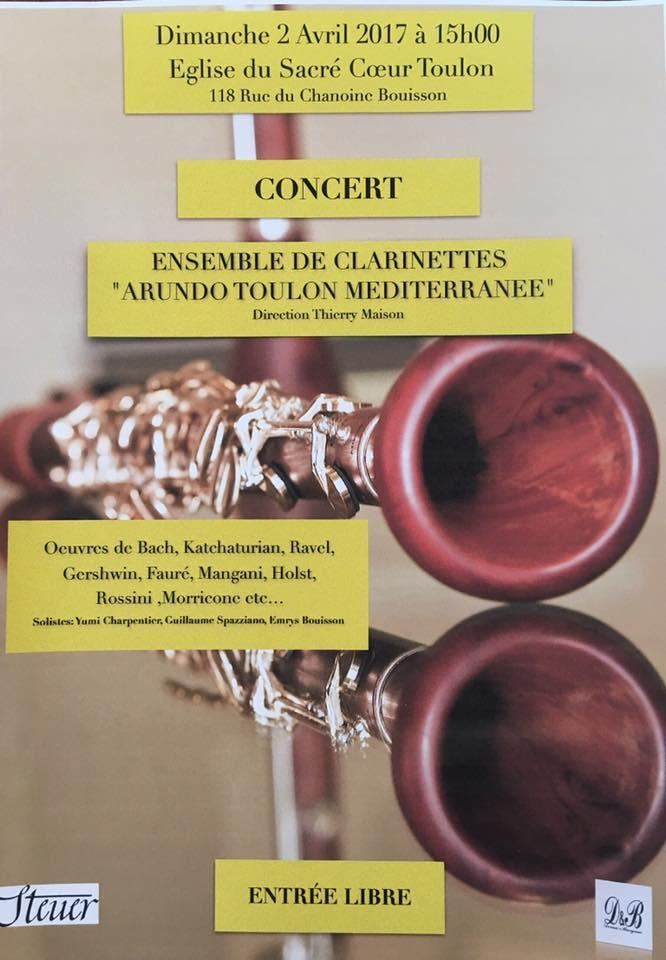 concert clarinettes