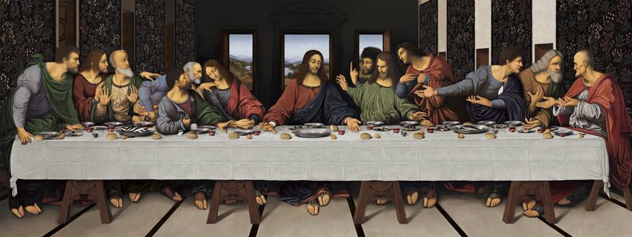last supper L Vinci