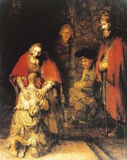 retour du fils prodigue Rembrant