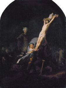 359px Raising of the Cross by Rembrandt van Rijn